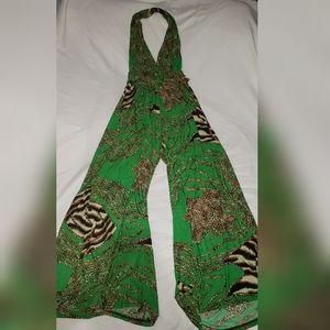 Sexy stylish animal print jumper